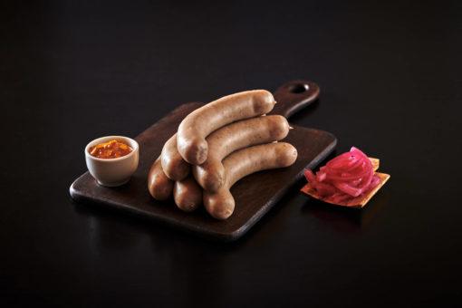 urøkt bratwurst